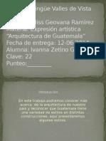 Arquitectura guatemalteca