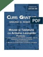 Robofun Curs Arduino-Lectia 13 Mouse si Tastatura cu Arduino Leonardo