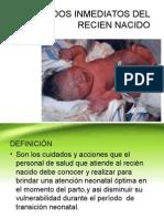 ATENCION INMEDIATA AL RN.ppt