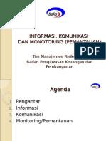 Informasi Komunikasi Monitoring