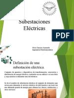 Definicion, Clasificacion y Elementos de Una Subestacion Eletrica