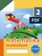 Matematika Munkafuzet 2-2