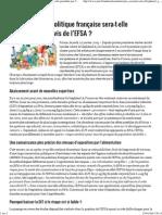 JIM.fr - Bisphénol a La Politique Française Sera-t-elle Perturbée Par l'Avis de l'EFSA