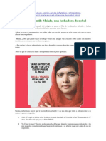 Cuento sobre Malala de Rosi Requena