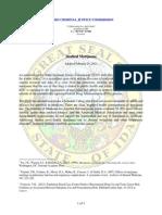 ICJC Medical Marijuana Position Paper