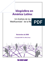 La Blogosfera en América Latina