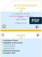 Presentation on Roadmap for IPR Research in India