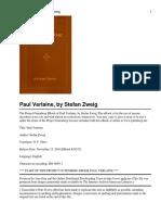 Paul Verlaine-Stefan Zweig