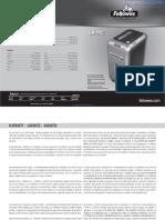 Fellowes Intellishred SB-99Ci Paper Shredder - 3229901