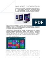 Caracteristicas de So windows 8