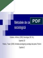 LI SG 03 Metodologia Sociologica