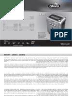 Fellowes Intellishred SB-89Ci Paper Shredder - 3228901