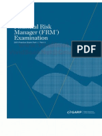 GARP FRM Practice Exams 2011