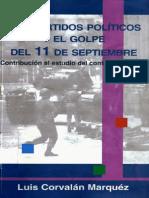 Los partidos políticos y el golpe del 11 de Septiembre