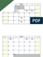 Cape Calendar 2014