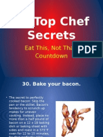 30 Top Chef Secrets