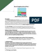 holbeck neighbourhood plan - policies-1