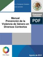 Manual Violencia de Genero en Diversos