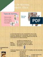 Ética y tipos de normas-2015.pptx