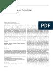 Intimate Relationships and Psychopathology