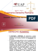 2 Semana El Matrimonio en Roma