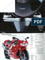 Flyer Motos Triumph 1998 (français)