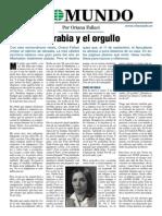 La Rabia Y El Orgullo  - de Oriana Fallaci