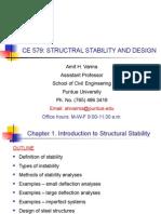 CE579 Half Course Summary