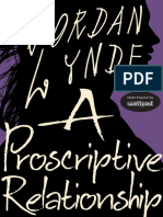 A Proscriptive Relationship - Jordan Lynde