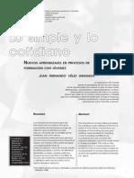 Lo Simple y Lo Cotidiano, Juan FernandoVelez