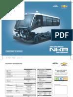 Ficha Tecnica Chevrolet Microbus Nkr 2013