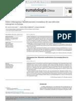 Fiebre chikungunya. Manifestaciones reumáticas de una infección emergente en Europa
