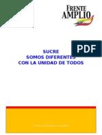 Programa del Gobierno Municipal de Sucre 2015 - 2020
