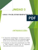 FIN DEL ESTADO BENEFACTOR EN MEXICO
