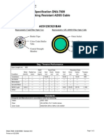 Specifications DNA - 7614