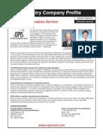 Industry Company Profile