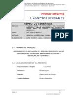 1.1 Aspectos Generales Mercado Nueva Esperanza Informe I