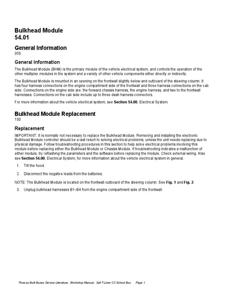 bulkheat modulos m2 106 | Bus | Transmission (Mechanics) on freightliner m2 fuse panel location, freightliner m2 hvac wiring-diagram, freightliner m2 headlight relay,