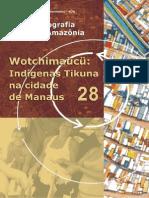 Wotchimaucu Tikunas Manaus, Cartografia Social