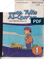 Buku BTQ Kelas VII SMP