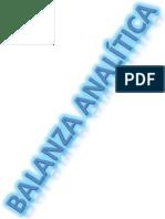balanza analitica
