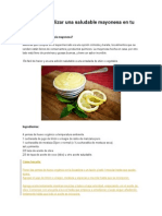 Aprende a realizar una saludable mayonesa en tu propia casa.docx