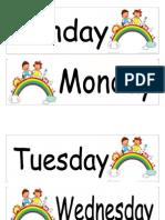 3种语言的daysof the week.doc