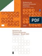 Relátório de Desenvolvimento Humano PNUD -Racismo, Pobreza e Violência