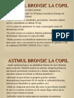 Astmul Bronsic La Copil
