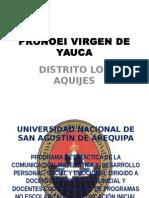 Pronoei Virgen de Yauca