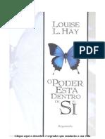 eBook O Poder Está Dentro de Si Louise L. Hay Omesmojairo
