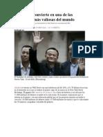 Alibaba Se Convierte en Una de Las Compañías Más Valiosas Del Mundo