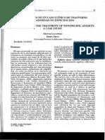 Terapía cognitiva conductual para ansiedad