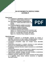 Capitolul 15 CreŞterea EconomicĂ Şi Dezvoltarea DurabilĂ
